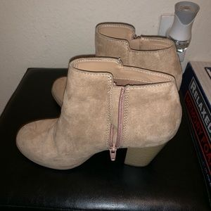 Old Navy Nude Booties - Size 7